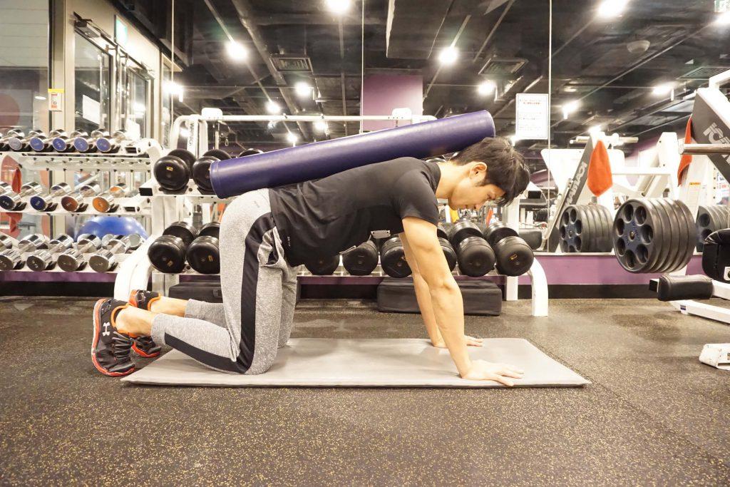 体幹トレーニング,姿勢