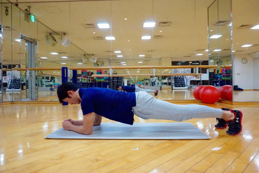 体幹トレーニング,プランク