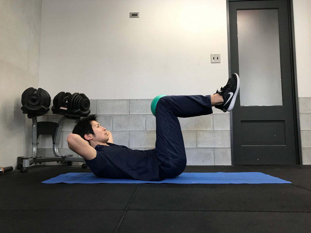 腹筋,体幹,クランチトレーニング