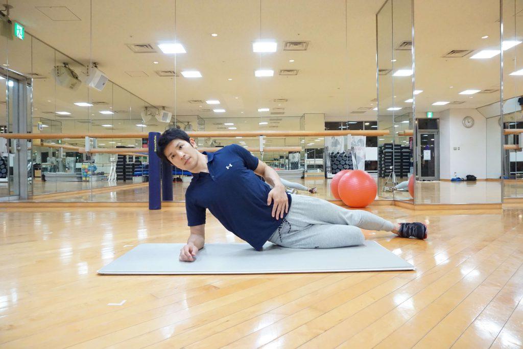 体幹トレーニング,内転筋,サイドプランク