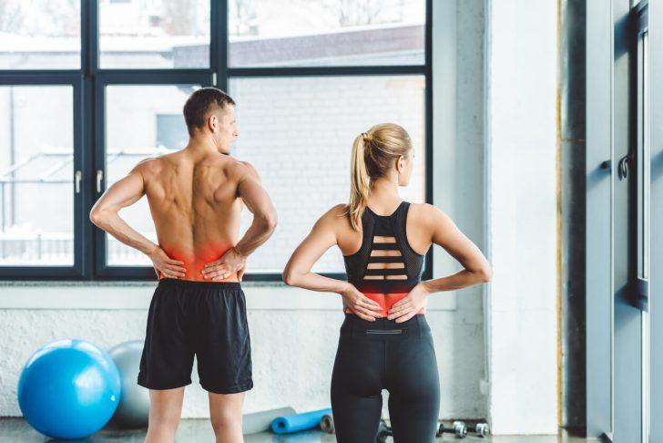 腰痛,下半身,トレーニング
