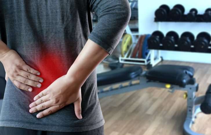 腰痛,片側