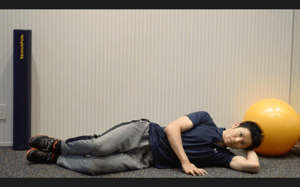 股関節,臀部,トレーニング,クラムシェル