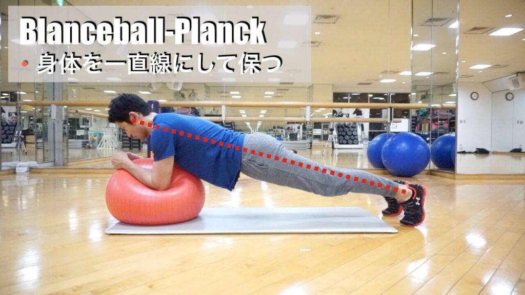 バランスボール,体幹トレーニング,プランク,fin