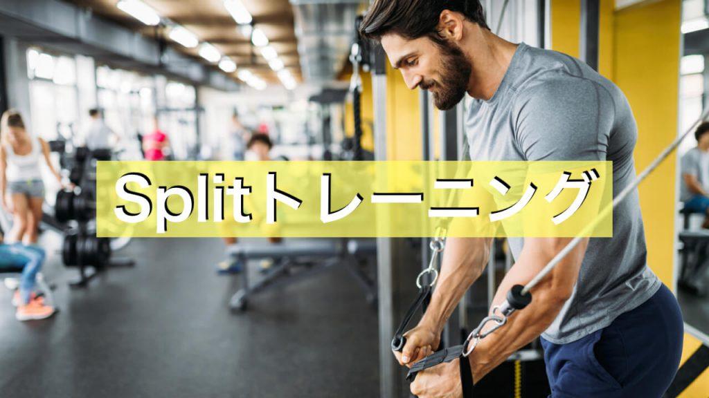 筋トレで効果的なスプリットトレーニング法