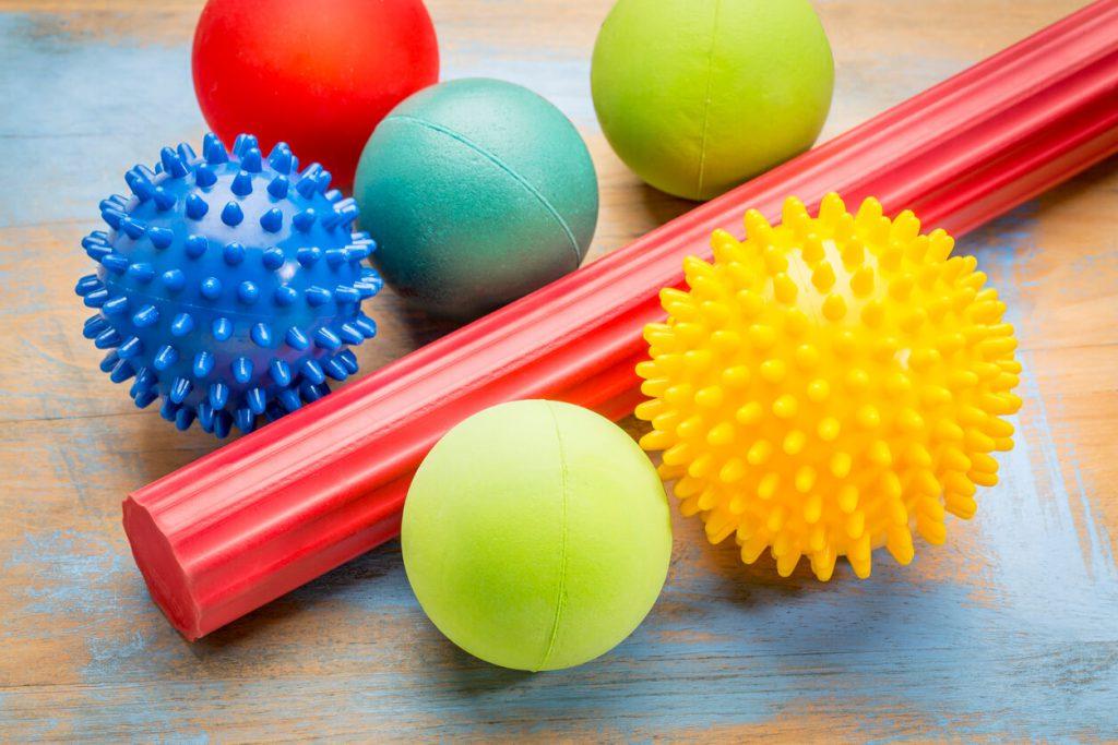 筋膜リリース用のボールの種類